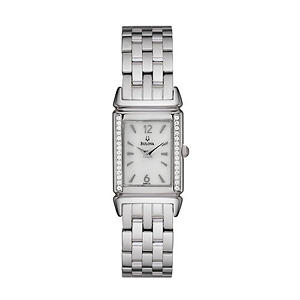 Bulova Diamond Ladies Watch with Mother of Pearl Dial