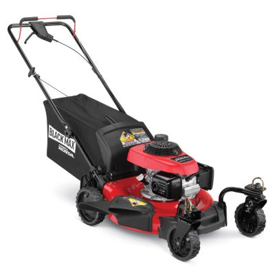 "Black Max 21"" 160cc Self-Propelled Mower - Powered by Honda.  Ends: Aug 29, 2015 6:35:00 AM CDT"