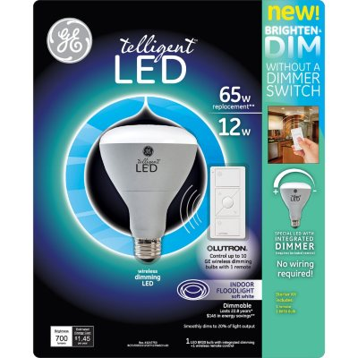 GE Remote Dimming LED Bulb and Controller.  Ends: Dec 22, 2014 7:35:00 AM CST