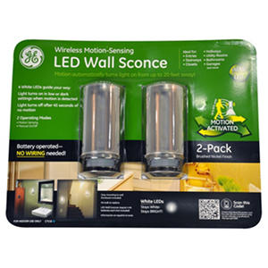 GE Motion Sensing LED Sconce | SamsClub.com Auctions