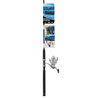 Shakespeare Catch More Fish Surf/Pier Spinning Combo with Tackle Pack.  Ends: Jul 3, 2015 11:15:00 PM CDT
