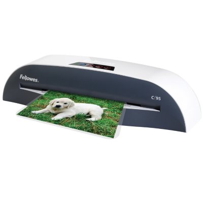 Fellowes C-95 Laminator With Pouch Starter Kit.  Ends: Nov 25, 2015 5:00:00 AM CST