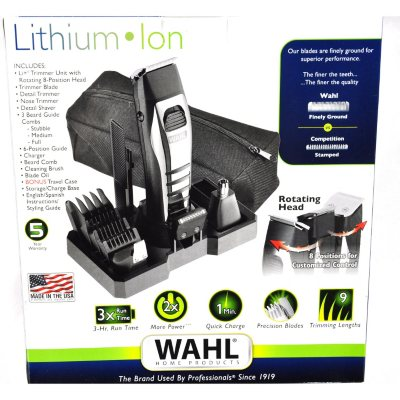 Wahl Lithium-Ion Multi-Groomer/Trimmer.  Ends: Sep 2, 2015 9:45:00 PM CDT