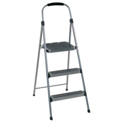 Cosco Premium Folding 3-Step Stool.  Ends: Oct 10, 2015 2:00:00 AM CDT
