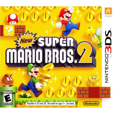 New Super Mario Brothers 2 for Nintendo 3DS.  Ends: Mar 7, 2014 8:15:00 AM CST