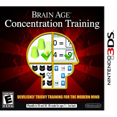 Nintendo 3DS - Brain Age: Concentration Training.  Ends: Jul 30, 2014 4:30:00 PM CDT