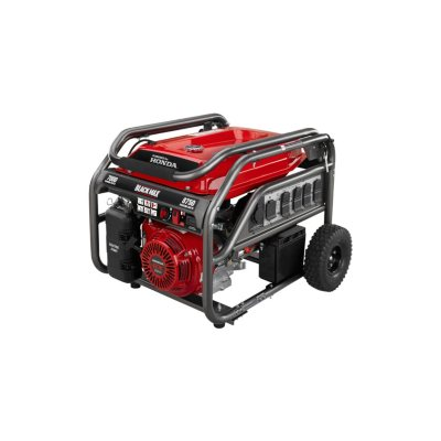 Black Max 7,000 Watt Portable Gas Generator with Electric Start - Powered by Honda.  Ends: May 30, 2015 1:00:00 AM CDT