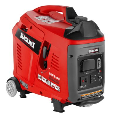 Black Max 2,100W Gas-Powered Digital Inverter Generator.  Ends: May 27, 2016 2:00:00 PM CDT