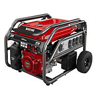 Black Max 7,000 Watt Honda Powered Electric Start Portable Gas Generator