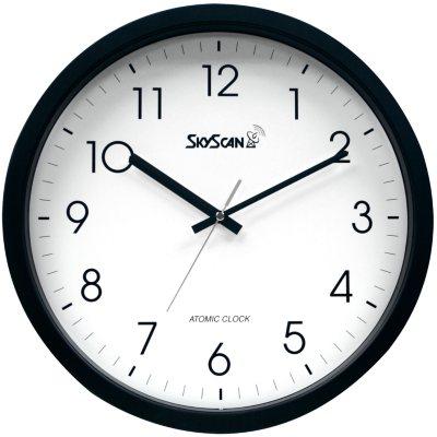 "Skyscan Atomic Analog Wall Clock (14"")"