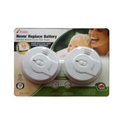 Smoke Alarm 2 Pack LED Indicator