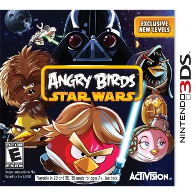 Angry Birds Star Wars (Nintendo 3DS).  Ends: Sep 20, 2014 8:00:00 PM CDT