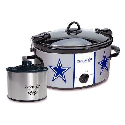 NFL 6-Quart Crock Pot, Dallas Cowboys.  Ends: Feb 9, 2016 1:40:00 PM CST