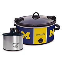 NCAA Crock-Pot with Little Dipper, Michigan Wolverines