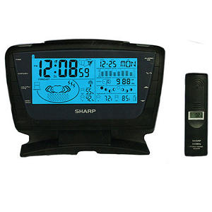 Weather Station Automic LCD Clock