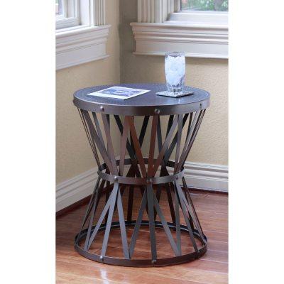 Alexander Collection Industrial Metal Lattice Table.  Ends: Apr 25, 2015 9:00:00 AM CDT