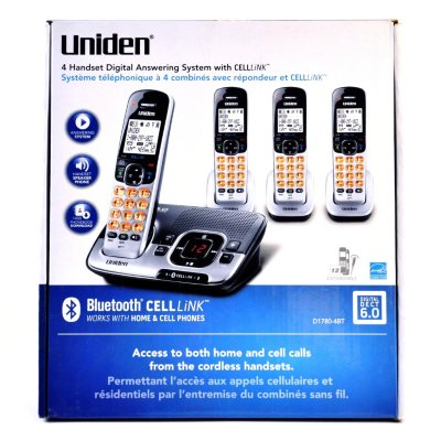 Uniden DECT 6.0 Cordless Phone w/CELLLiNK Bluetooth® Connection.  Ends: May 25, 2013 9:00:00 AM CDT