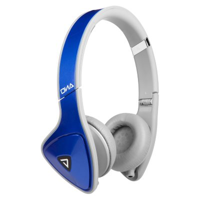 Monster DNA On-Ear Headphone, Blue/Grey.  Ends: Mar 30, 2015 7:12:00 PM CDT