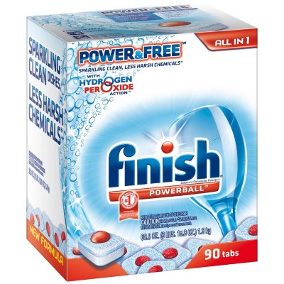 Finish Powerball Dishwashing Tabs (90 ct.).  Ends: Nov 27, 2014 7:10:00 PM CST