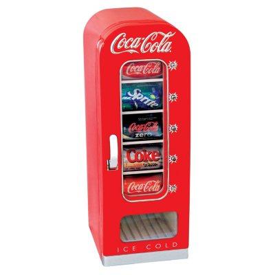 Coca-Cola Retro Vending Refrigerator.  Ends: Mar 31, 2015 3:15:00 PM CDT