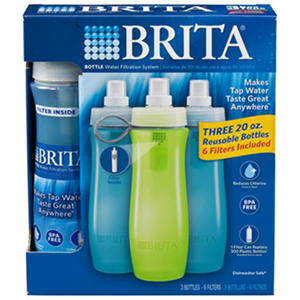 Brita On The Go Bottle with Filters