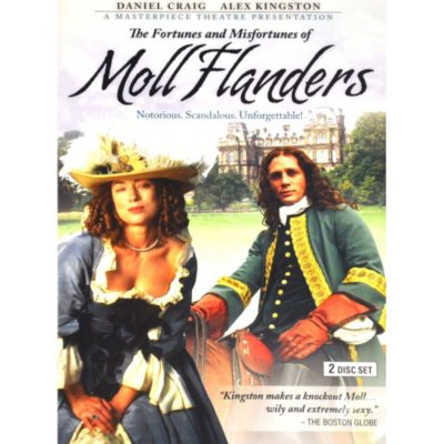 Masterpiece Theatre DVD: Moll Flanders, 1996.  Ends: Aug 29, 2014 12:30:00 AM CDT
