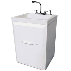 Deep Utility Sink With Cabinet : Utility Sink with Cabinet SamsClub.com Auctions