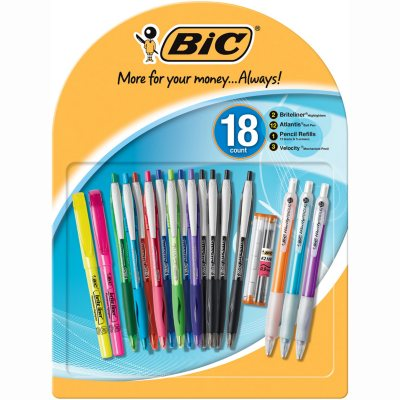 BIC Writing Essentials All-in-One Pack - 18 pc.