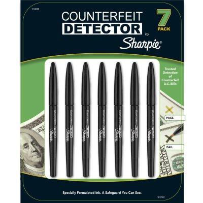 Sharpie Counterfeit Detector Pens (7 Pack)
