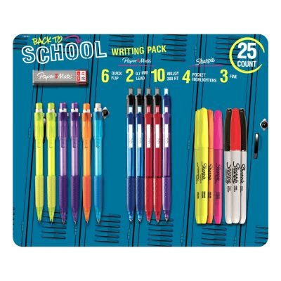 Sharpie and Paper Mate Writing Essentials (25 Pk.).  Ends: Aug 27, 2014 12:03:00 PM CDT