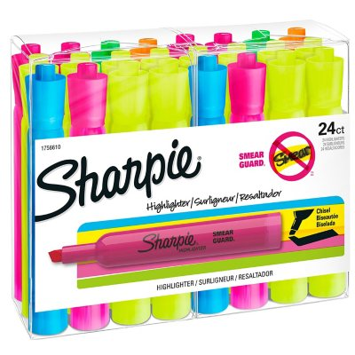 Sharpie Accent Yellow Highlighters, 24 Pack.  Ends: Jul 4, 2015 12:03:00 AM CDT