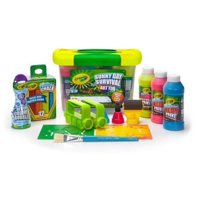 Crayola Sunny Day Survival Outdoor Art Tub.  Ends: Jul 31, 2016 8:15:00 AM CDT