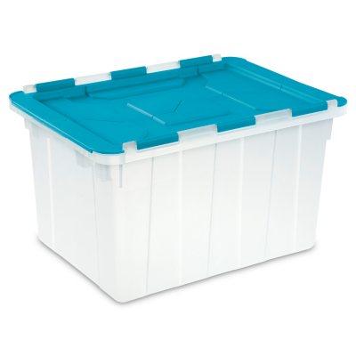 Sterilite 12-Gallon Hinged Lid Tote Box.  Ends: Nov 25, 2015 10:00:00 PM CST
