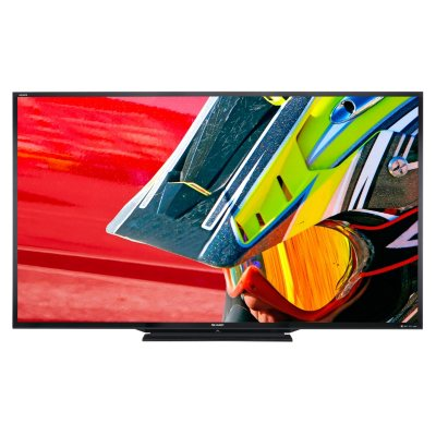 "90"" Sharp Aquos LED 1080p 3D Smart TV.  Ends: Oct 23, 2014 7:30:00 PM CDT"