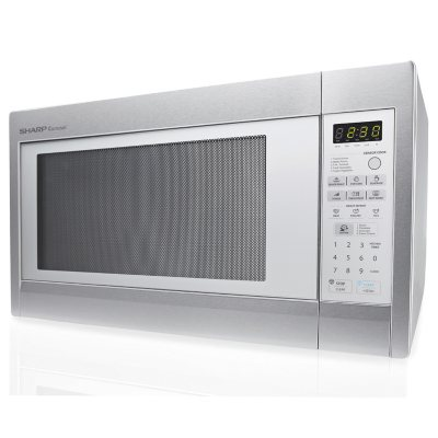 Sharp Stainless Steel Countertop Microwave (2.2 Cu.Ft. ).  Ends: Sep 1, 2014 11:15:00 AM CDT