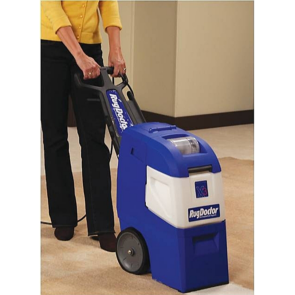 Rug Doctor X3 Mighty Pro Carpet Cleaner With Upholstery