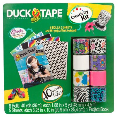 Duck Brand 14 Piece Duck Tape Activity Kit.  Ends: Dec 5, 2013 5:25:00 AM CST