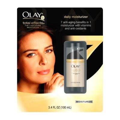Olay Total Effects Anti-Aging Moisturizer, Regular (3.4 oz.).  Ends: May 25, 2015 7:55:00 AM CDT