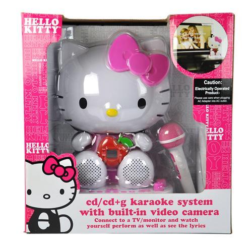Hello Kitty Karaoke Microphone Hello Kitty Cdg Karaoke System