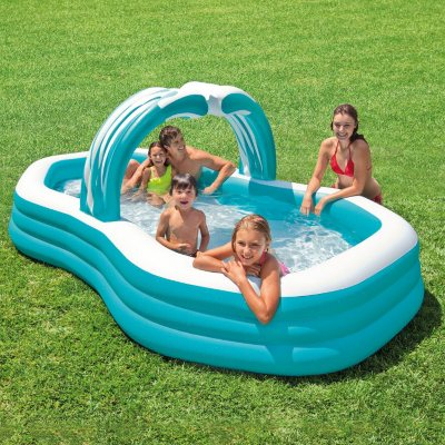 Intex Swim Center Family Pool.  Ends: Oct 9, 2015 8:35:00 PM CDT