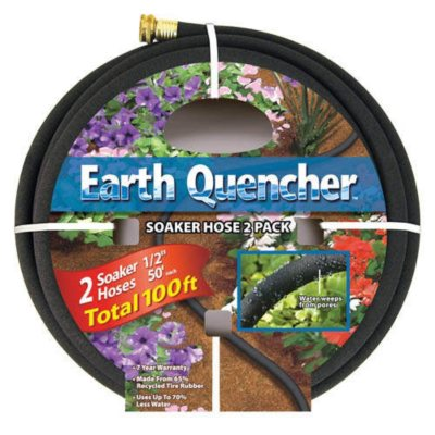 Earth Quencher Soaker Hose - 2/50ft.  Ends: Dec 4, 2013 11:00:00 PM CST