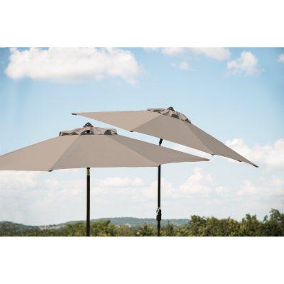 Member's Mark 10' Market Umbrella, Specturm Dove.  Ends: Jun 24, 2016 8:00:00 PM CDT