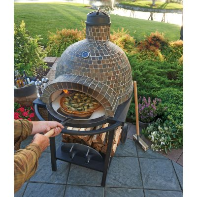 Member's Mark Wood Fired Pizza Oven.  Ends: Apr 1, 2015 12:10:00 AM CDT