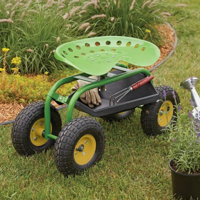 Member's Mark Garden Scooter with Swivel Seat.  Ends: May 30, 2015 3:25:00 PM CDT