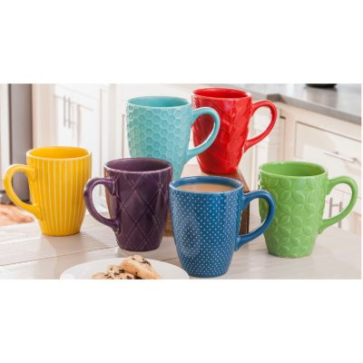 Daily Chef Textured Mug Set (6 Pack).  Ends: Oct 10, 2015 2:00:00 AM CDT