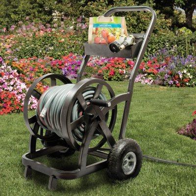 Member's Mark 2-Wheel Hose Reel Cart.  Ends: May 30, 2015 11:10:00 PM CDT