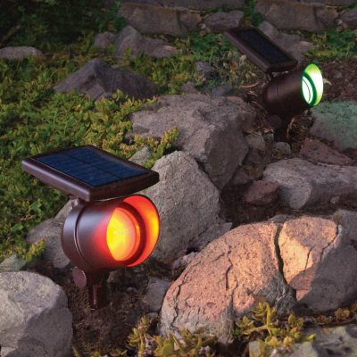 Member's Mark Solar Color Changing Spot Lights (2 Pk.).  Ends: May 26, 2016 7:10:00 PM CDT