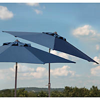 Member's Mark 10 ft Market Umbrella, Indigo