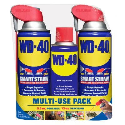 WD-40 Twin pk. 12 oz. Smart Straw + 5.5 oz.
