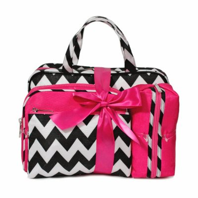 Celebrity Cosmetic Bags, Set of 4.  Ends: Jul 30, 2016 3:00:00 PM CDT